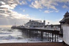 pilier de Brighton photographie stock