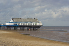 pilier de cleethorpes Photo stock