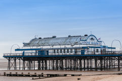 Pilier de Cleethorpes, le Lincolnshire, Angleterre, R-U Images stock
