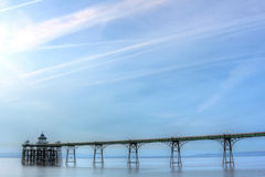 Pilier de Clevedon Photo stock
