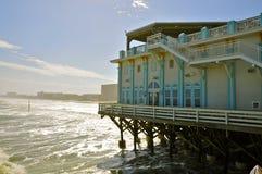 Pilier de Daytona Beach, la Floride Images libres de droits
