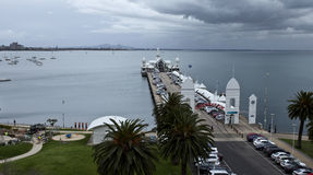 Pilier de Geelong Photos stock