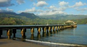 pilier de Kauai de hanalei photos libres de droits