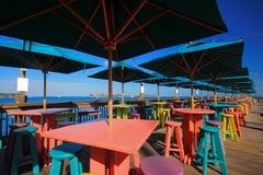 Pilier de Key West Photos stock