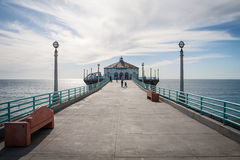 Pilier de Manhattan Beach Image stock