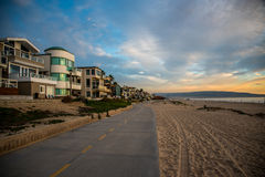 Pilier de Manhattan Beach Photo stock