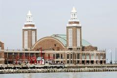 pilier de marine de Chicago Images stock