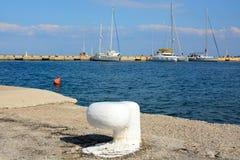 Pilier de Methana, Grèce Photographie stock