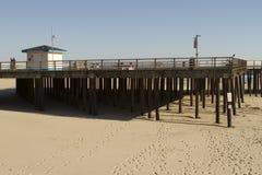 Pilier de plage de Pismo Photographie stock libre de droits