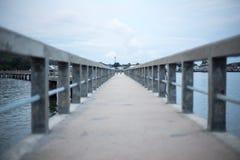 Pilier de pont en ciment Photo libre de droits
