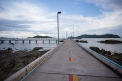 Pilier de pont en ciment Image libre de droits