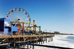 Pilier de Santa Monica photos stock