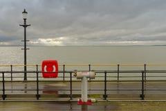 Pilier de Southend, essex Photographie stock libre de droits