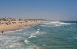 Pilier de Venise, CA, Los Angeles Photo stock