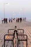Pilier de vieux port, Limassol, Chypre photo libre de droits