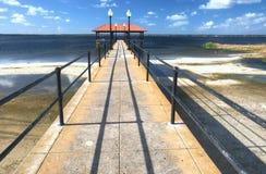 Pilier de ville de Sebring, la Floride Photographie stock libre de droits
