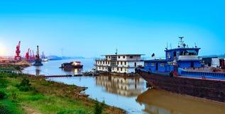 Pilier du fleuve Yangtze Images stock