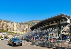 Pilier du Monaco Images stock