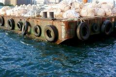 pilier du port Photo libre de droits