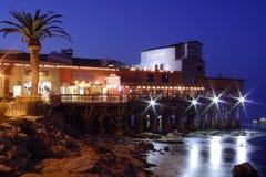 Pilier neuf de Monterey photographie stock