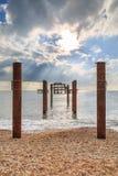 Pilier occidental, Brighton photo libre de droits