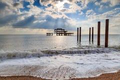 Pilier occidental, Brighton image stock