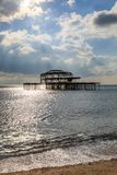 Pilier occidental, Brighton images stock