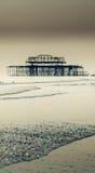 Pilier occidental Brighton Images libres de droits