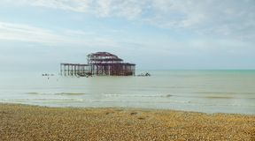 Pilier occidental 1 de Brightons photo libre de droits