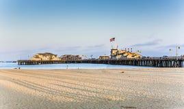 Pilier scénique en Santa Barbara Photos stock