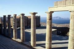 Piliers d'Acropole Image libre de droits
