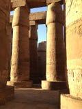 Piliers d'Egypte antique Images libres de droits