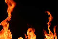 Piliers d'incendie Photos libres de droits