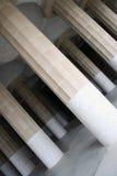 piliers de stationnement de guell images stock