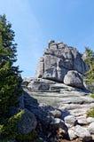 Piligrims de pedra Foto de Stock