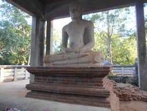 Pilimaya do budu do samadhi do anuradhapura da Buda da natureza da beleza imagens de stock royalty free