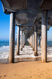 Pilings Stock Image