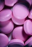 Pill. Close-up view of many vitamin pill Stock Photos