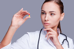 A pill from any illness! Stock Images