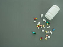 Pill background Royalty Free Stock Photos