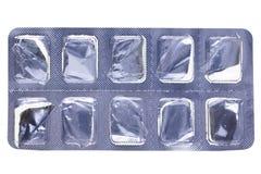 Pill blister Royalty Free Stock Photos