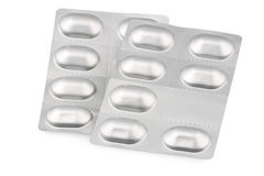 Pill blisters Stock Image