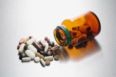 Pill Bottle Stock Images