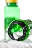 Pill bottle Stock Images