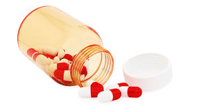 Pill bottle Royalty Free Stock Photography