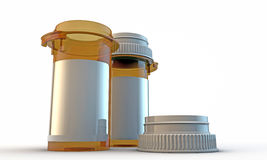 Pill bottle Royalty Free Stock Photos