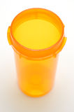 Pill Bottle Inside Royalty Free Stock Image