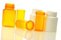 Pill bottles Stock Image