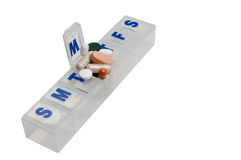 Pill Box Stock Images