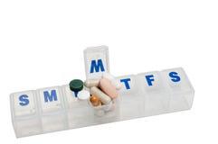 Pill Box stock image